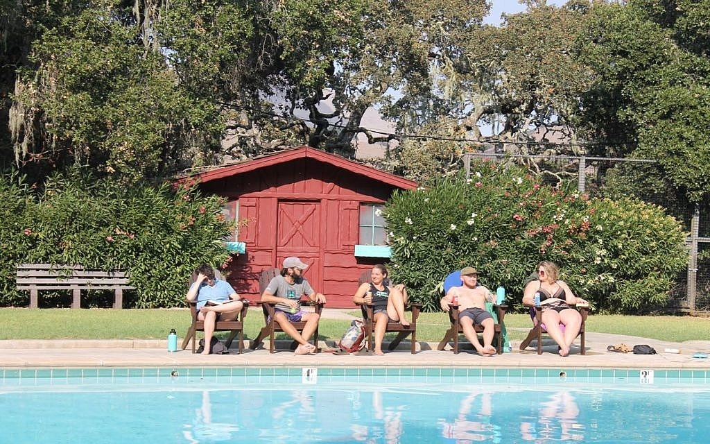 Pool Camp Carmel Valley