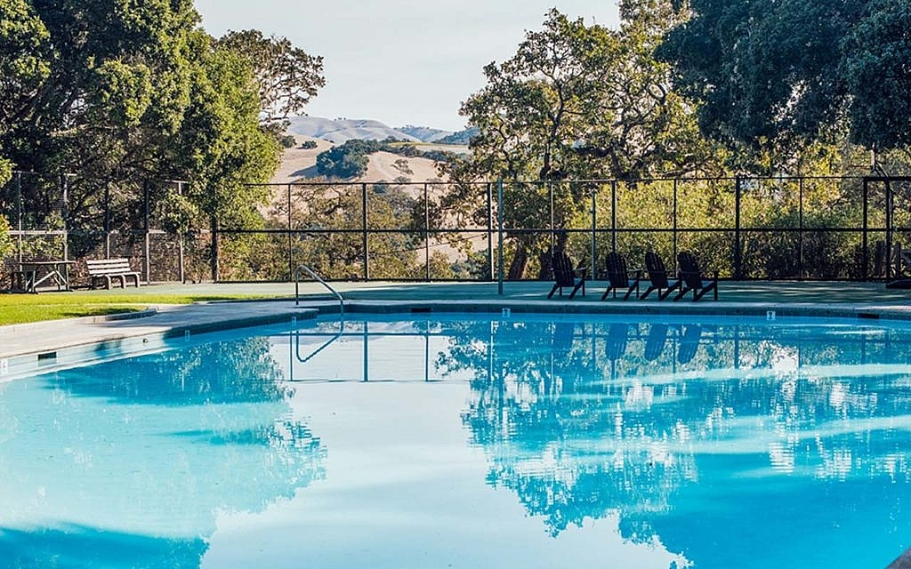 Pool with view Camp Carmel Valley
