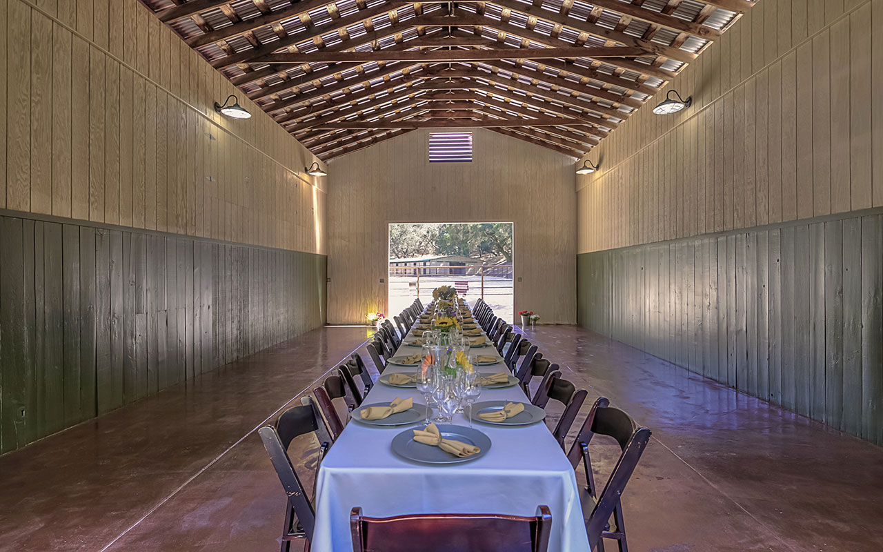 Camp Carmel Valley Barn Event